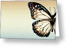 Artistic Butterfly Greeting Card