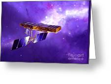 Artists Concept Of Space Interferometry Greeting Card