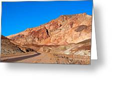 Artists Palette Death Valley California Greeting Card