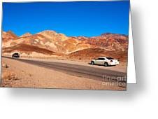 Artists Palette In Death Valley California Greeting Card