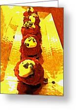 Artsy Kebabs Greeting Card