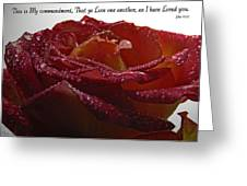 As I Have Loved You Greeting Card