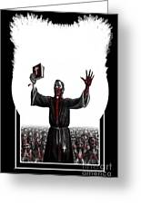 As I Rule They Shall Follow Greeting Card