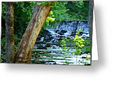 As The River Runs Through It Greeting Card