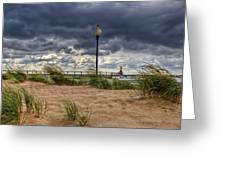 As The Storms Roll Through 2 Greeting Card