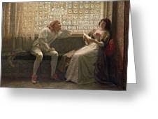 'as You Like It' Greeting Card by Charles C Seton