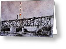Asarco In Pen And Ink Greeting Card by Candy Mayer