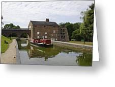 Ashby Canal At Moira Furnace Greeting Card