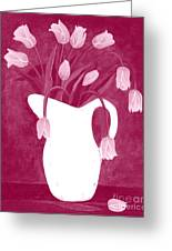 Ashes Of Roses Tulips Greeting Card