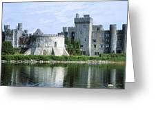 Ashford Castle, Lough Corrib, Co Mayo Greeting Card