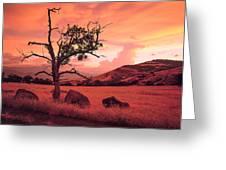 Ashland Sunset Greeting Card