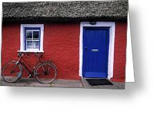 Askeaton, Co Limerick, Ireland, Bicycle Greeting Card