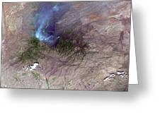 Aspen Fire, Arizona Greeting Card