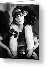Asta Nielsen (1881-1972) Greeting Card