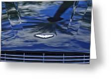 Aston Martin Hood 2 Greeting Card