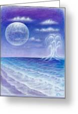Astral Beach Greeting Card