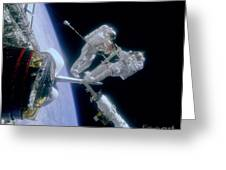 Astronauts Greeting Card