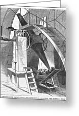 Astronomer, 1869 Greeting Card