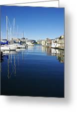 At Fisherman's Wharf Greeting Card