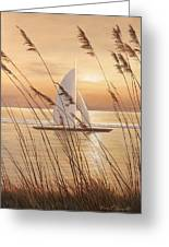 At Last Greeting Card by Diane Romanello