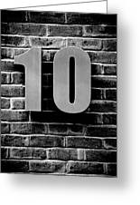 At Number 10 Greeting Card by Jez C Self
