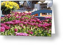At The Farm Stand Greeting Card