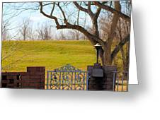 At The Levee Greeting Card