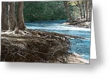 At Water's Edge Greeting Card