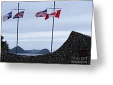 Atlantic Charter Site Greeting Card
