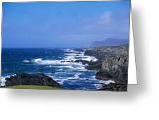 Atlantic Ocean, Achill Island, Looking Greeting Card