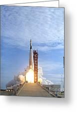 Atlas Agena Target Vehicle Liftoff Greeting Card