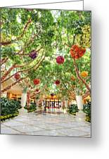 Atrium At The Wynn 2 Greeting Card