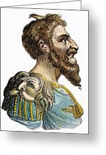 Attila, King Of The Huns Greeting Card