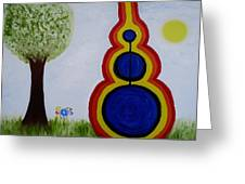 Attune - To Bring Into Harmony. Greeting Card