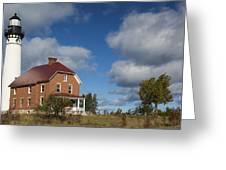 Au Sable Lighthouse 4 Greeting Card