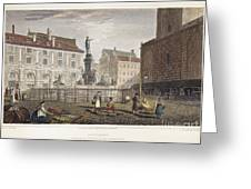 Augsburg, 1823 Greeting Card