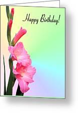 August Birthday Greeting Card