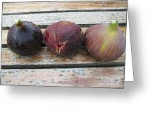 Figs On A Table  Greeting Card