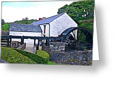 Auld Mill  Greeting Card