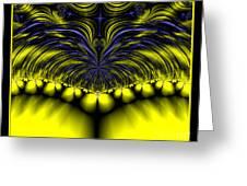 Aurora Borealis Dreams Fractal 58 Greeting Card