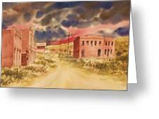 Aurora Ghost Town Nevada Greeting Card