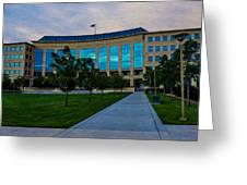 Aurora Municipal Center Hdr Greeting Card by Sergio Aguayo