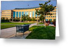 Aurora Municipal Center Greeting Card