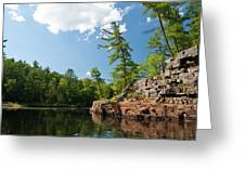 Ausable Chasm 1618 Greeting Card