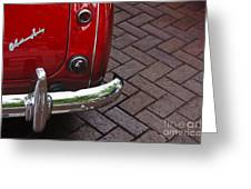 Austin Healey Greeting Card