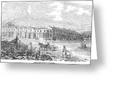 Australia: Melbourne, 1853 Greeting Card