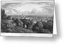 Austria: Baaden, 1822 Greeting Card