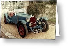 Auto: Alfa-romeo, 1933 Greeting Card