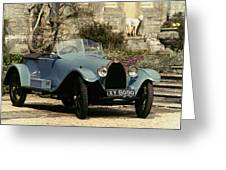 Auto: Bugatti Type, 1925 Greeting Card