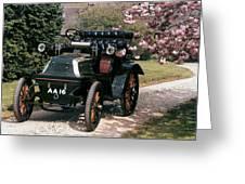 Auto: Daimler, 1899 Greeting Card